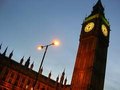 Big Ben, London, England (hupspring) Tags: lighting england london clock architecture evening time bigben
