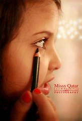 (Missy   Qatar) Tags: red portrait eye mac nail polish missy qatar kohl aldana dndon alkhater hawaalrayyanfav