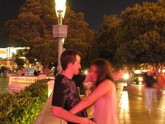 Bellagio Fountain Lovers