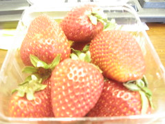 strawberries from the Farmers' market