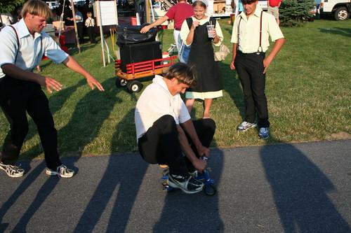 boys Amish teen