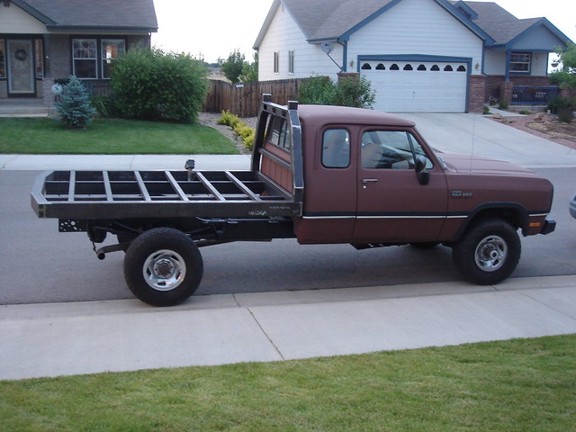 diesel 1993 dodge ram 93 cummins flatbed 1stgen firstgen w250