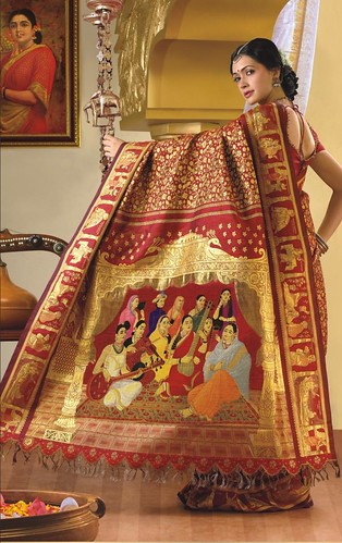 The world's most expensive saree.....$100,000