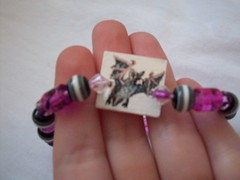 Bat bracelet- for sale (misc5anddime) Tags: