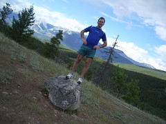 Rock Climbing in Jasper (joadc) Tags: river athabasca