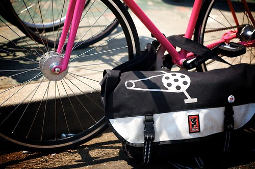 Innes's Fixie & BBF Chrome Bag