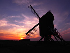 Test photos Ricoh GX200 (Jos Mecklenfeld) Tags: sunset mill windmill groningen ricoh molen terapel westerwolde testfotos gx200