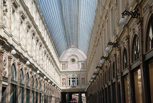 Old Mall in Brussels by you.