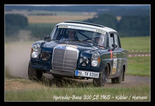 Mercedes-Benz 300 SE 1965 - Eifel Rallye 2008