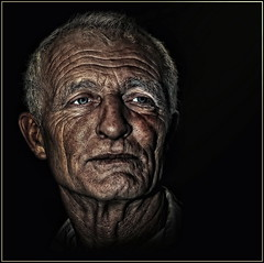 Old man can smile too (Cpt<HUN>) Tags: life old light portrait people man color mood age dvornik diamondclassphotographer flickrdiamond portraitclassicshalloffame multimegashot