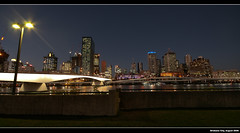 Brisbane City from Southbank ([ Kane ]) Tags: city longexposure bridge light white reflection art water night buildings river lights dusk australia brisbane southbank qld bluehour kane southbrisbane 1020mm gledhill sigma1020 citybuildings 400d kanegledhill humanhabits kanegledhillphotography
