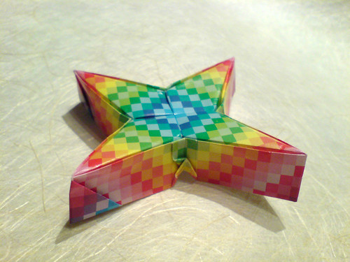 Origami diagram for Cathy's star - Page 2 - 6 point modular star ... | 375x500