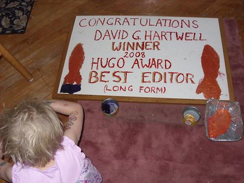 Congratulations, David