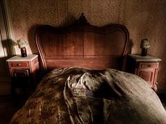 Villa St-Marie (Christophe Vanfleteren) Tags: old abandoned lamp bed sheets villa forsaken hdr urbex sigma1020mm d80 villastmarie villasaintmarie