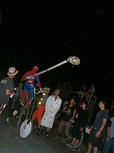 Tallbike Jousting