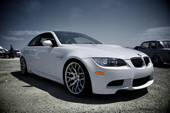 M3 on Breyton Wheels (j.hietter) Tags: show california road street white black detail car marina canon monterey airport italian angle weekend wheels wide august front whole exotic bmw 5d carbon fiber m3 2008 34 municipal italiano gts breyton wholecar concorso frontangle