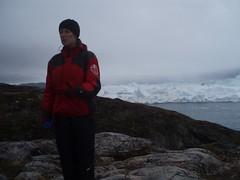 Guide Dagmar ved Sermermiut II (pingvin2007) Tags: grnland ilulissat isbjerge