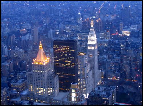 New York Blue Hour