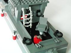 RAMM Wasserläufer (Battledog) Tags: cruise water boat lego military runner patrol moc ramm