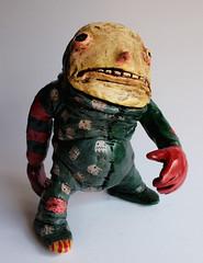 Rag Poblin (Poblin King) Tags: sculpture monster colombia cue mask bogotá great clay goblin ugly po collect iwan sebastiánbages poblin