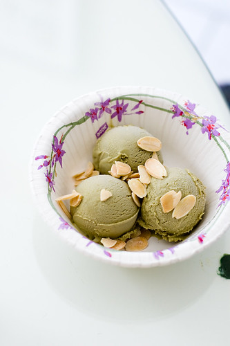 Cooking at Home: Matcha Ice Cream