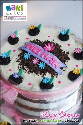 Daisy Tiramisu_ - Maki Cakes