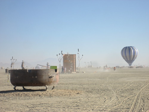 Hot Air Balloon on the Playa