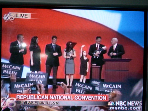 A clash of titans: NBC's NFL opener vs. McCain's RNC speech 2