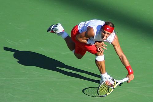 Rafael Nadal footwork