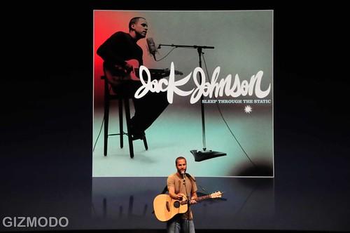 在iTunes歷史上 銷售量第一的人是 Jack Johnson