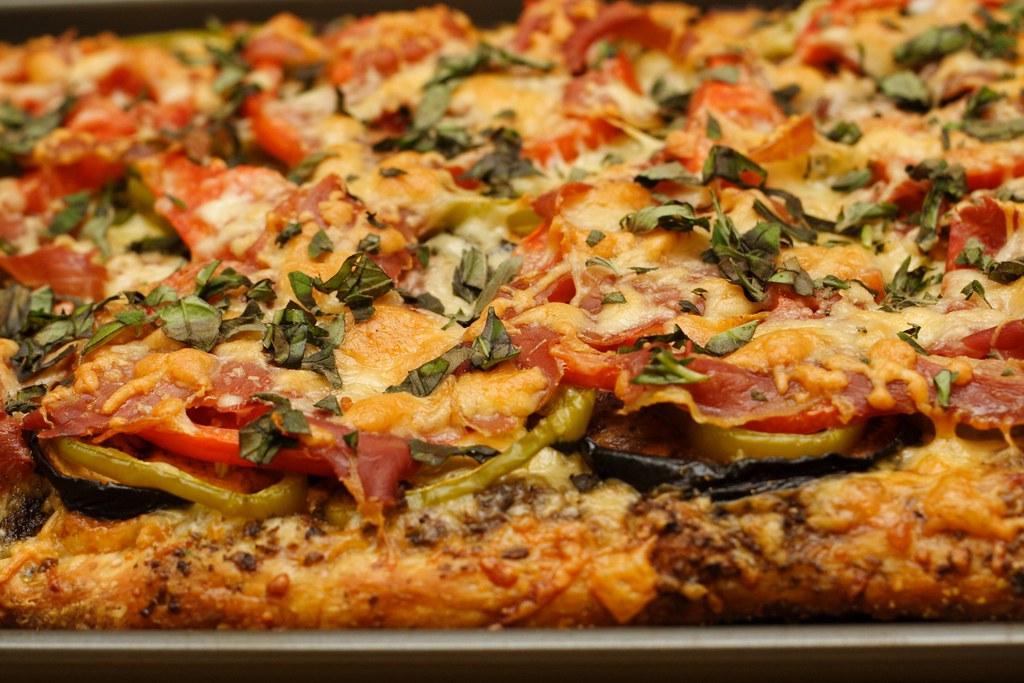 pizza landscape