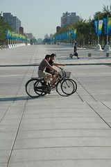 Twin Bicycles - Beijing _0075 (Philip McMaster PeacePlusOne_\!/) Tags: china sun green beijing twin sunny pedestrian bicycles pollution plus climatechange climate globalwarming fairweather cyclinglane lighttraffic carbonemissions changeagent changeglobal photophilipmcmaster twinbicycles peaceplusone climatechangeagent sexinthestreet agentclimate olympicdividend thinkingthreeways globalolympic dividendthinking waysphoto mcmastersunnysunfair weatherweatherbeijingchinapollutiongreenclimateclimate warmingchange agentpeace onecarsautomobilesreducedrestriolympic onecarsautomobilesreducedrestrictionscarbon emissionsparalympicssex streetsexolympic streetsexystreetssunlighthutongcloudlesslight trafficolympic trafficinformationkioskstoiletsbicyclescycling doublebicycles twomenontwobicycles middleagedmenonbicycles
