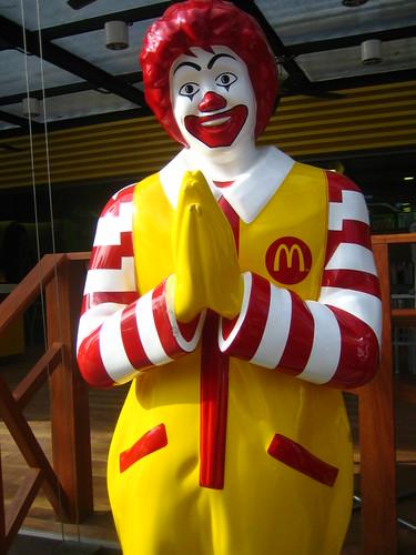 Ronald Macdonalds in Thailand