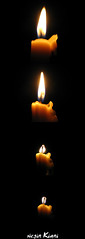 Life Of One Candle (///Negin Kiani) Tags: candle god blow   mygod    ilovegod    neginkiani      lifeofonecandle candlelife mycandlelife photoghrafi