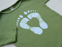Custom Heartfeet Tee