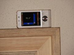 Medidor de inclinación con el Sony Ericsson w910i