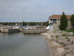 Pier in Sister Bay