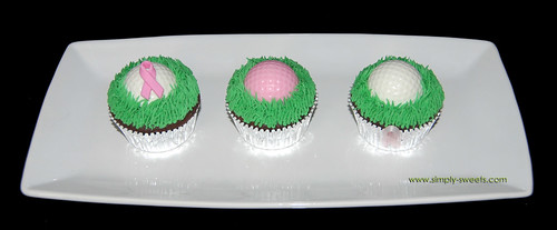 Golf tournament cupcakes copy