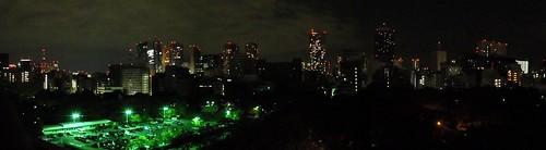 Panorámica de Tokyo desde el Prince Hotel