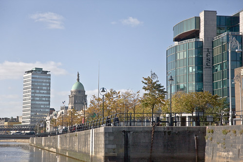 Liberty Hall, The Custom House,The Spire and The IFSC