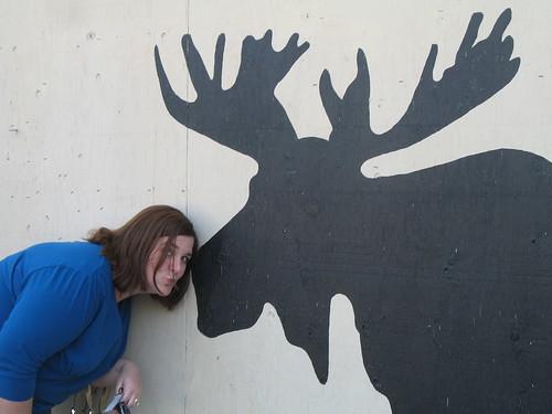 Moose kiss
