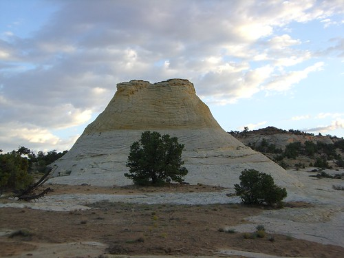 Moqui Hill, one of the place where Moqui Marbles are found