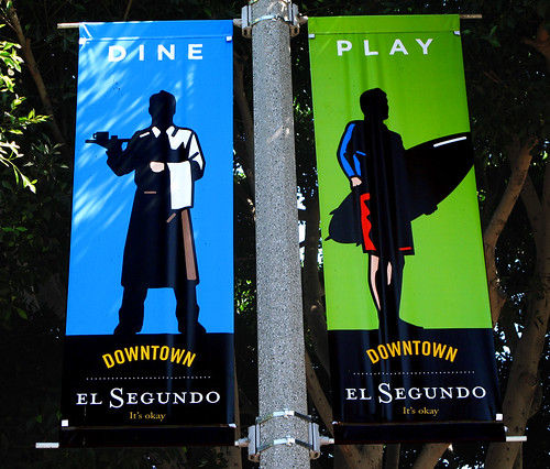 El Segundo Downtown Banner (fake)