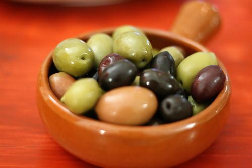 Olives mélangées