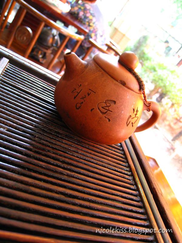 teapot close up