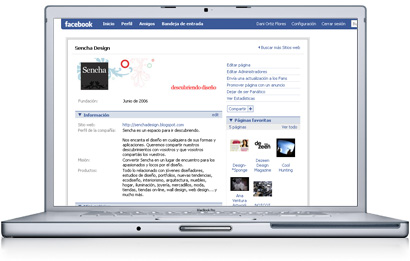Sencha en Facebook