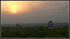 TIKAL (ricardo180276) Tags: lumix maya guatemala selva panasonic ruina amanecer tikal niebla fz18