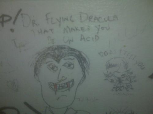 Flying Dracula
