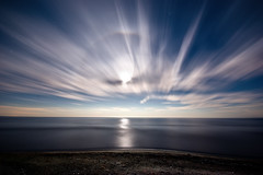 IMGP-7830 (Bob West) Tags: longexposure nightphotography moon ontario beach clouds lakeerie greatlakes fullmoon nightshots startrails sigma1020mm rondeauprovincialpark southwestontario bobwest k10d