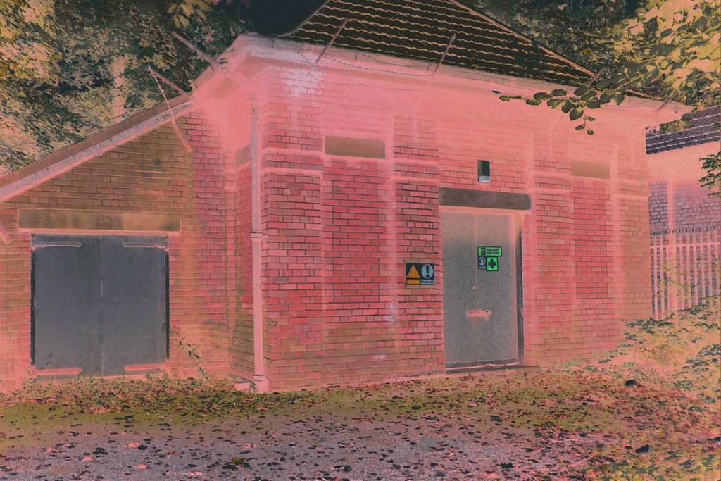 Crossacres Booster (Water Pumping) Station, Crossacres Rd., Wythenshawe